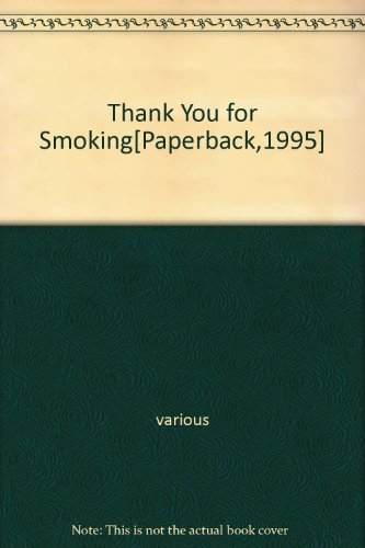 Thank You for Smoking[Paperback,1995]