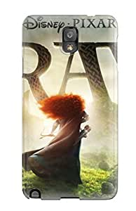 CaseyKBrown Case Cover For Galaxy Note 3 - Retailer Packaging Pixar Brave 2012 Protective Case