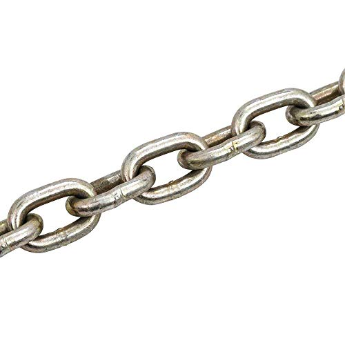 (BloomGrow Heavy Duty Straight Stainless Steel Link Chain)
