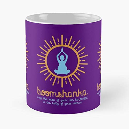 Boomshanka Which As Everyone Knows Means May The Seed Of Your Loin Be Fruitful In Belly Woman - Best Gift Coffee Mugs 11 Oz Father ()