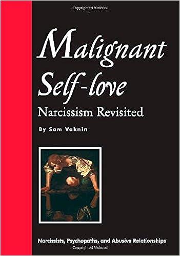 Malignant self love narcissism revisited sam vaknin lidija malignant self love narcissism revisited sam vaknin lidija rangelovska 9788023833843 amazon books fandeluxe Images