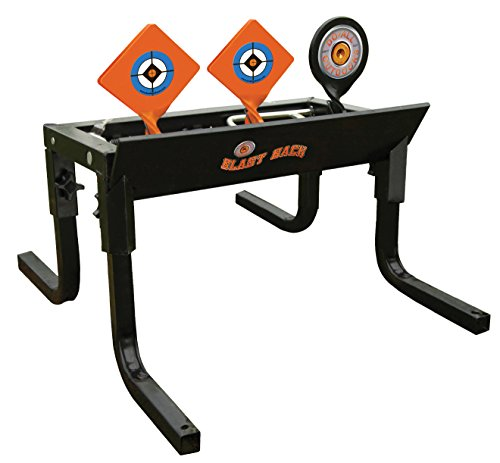 Do-All Outdoors - Blast Back Auto Resetting Steel Target, Rated for .22/.17 Caliber (Best Deer Caliber For Long Range)