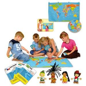 Discover the world map game toy amazon toys games discover the world map game toy gumiabroncs Choice Image