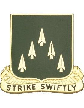 70th Armor Unit Crest (Strike Swiftly)