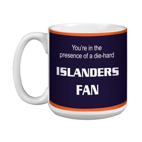 Tree-Free Greetings XM28186 Islanders Hockey Fan Artful Jumbo Mug, 20-Ounce