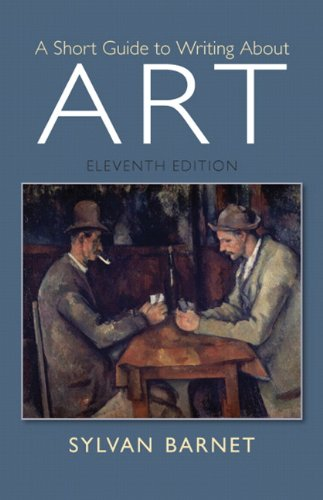 Short Guide To Writing About Art