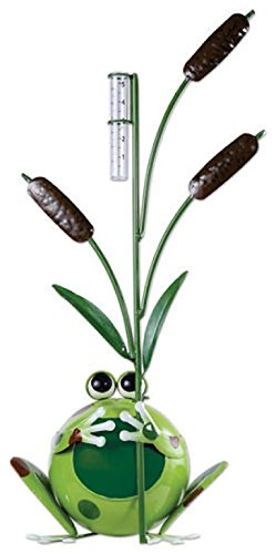 Sunset Vista Designs Large Happy Frog Rain Gauge