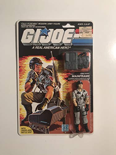 "Vintage 1986 G.I. JOE 3 3/4"" Action Figure Mainframe"