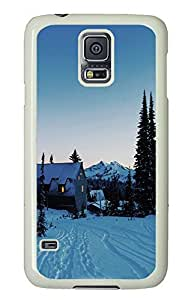 Samsung Galaxy S5 landscapes nature snow 5 PC Custom Samsung Galaxy S5 Case Cover White