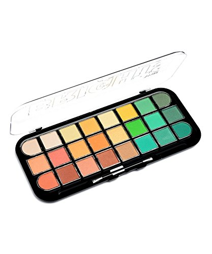 Kleancolor New WARM Brights 24 Color Eyeshadow Palette