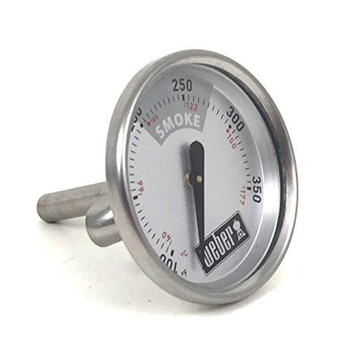 Weber 63028 Temperature gauge for some Smokey Mountain Cookers