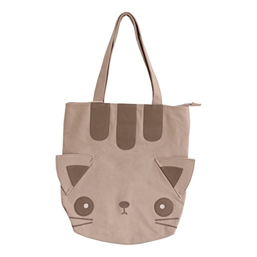 femmes sac cartable toile cat besace les vPq1w7w