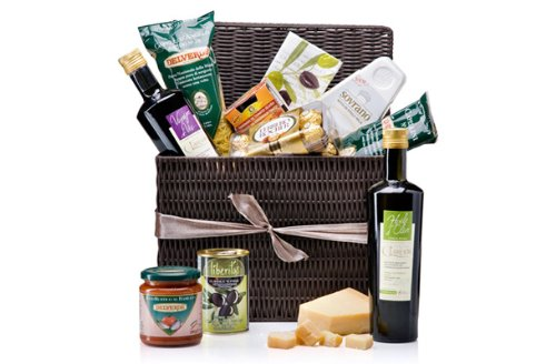 Taste of Italy Gourmet Gift Basket (Italy Gift Basket)