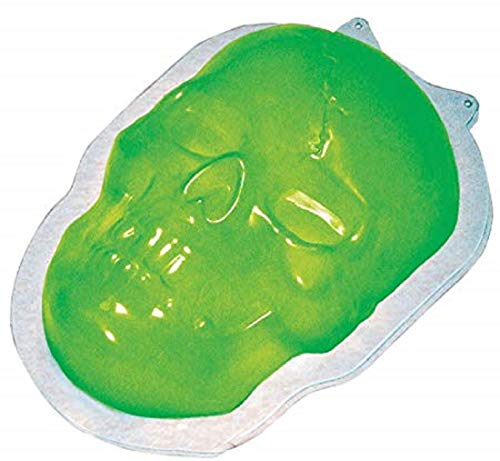 Fancy Me Halloween Skull Skeleton Spooky Creepy Scary Jelly Mould Party Food Decoration Idea -