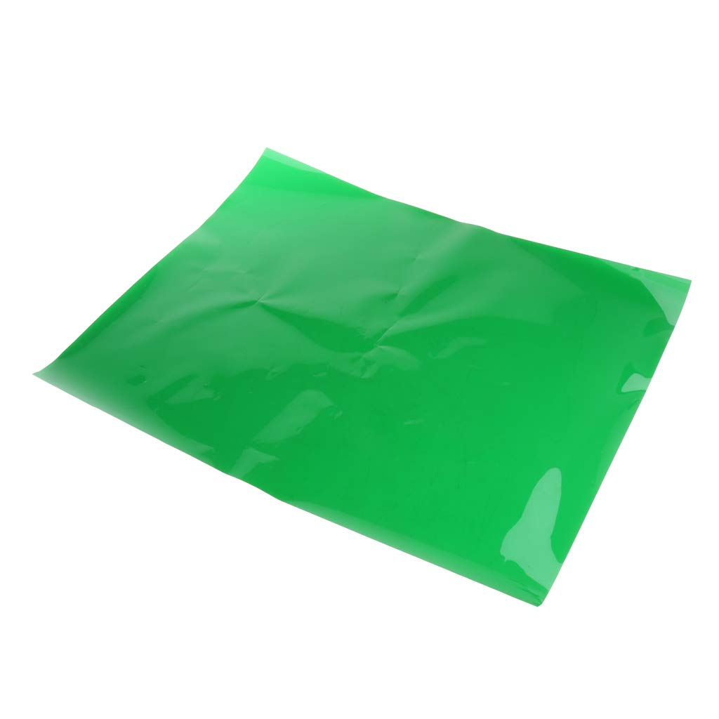 Professional 15.7x9.6inch Gels Color Filter Paper Correction Gel Lighting Filter for Photo Studio Light Head Light Strobe Flashlight Green