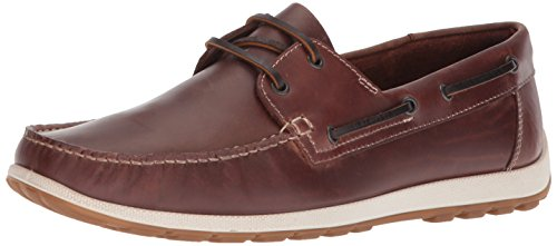 ECCO Men's Dip Moc Moccasin Cognac Boat fast delivery online sale geniue stockist discount best prices for cheap cheap online clearance low shipping Y2lGsc74