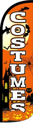 Costumes Tall Feather Banner Flag (3ft x 11.5ft) by The Flag Depot]()