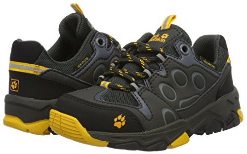 Pictures of Jack Wolfskin Unisex MTN Attack 2 Texapore Low K Hiking Boot, Burly Yellow, 5 M US Big Kid 4