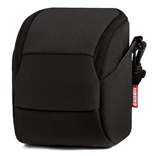 Coolpix Camera Case - CAISON Camera Case Shoulder Bag for Canon EOS M100 M3 M5 M6 PowerShot SX540 SX430 G3 G5 X/Sony A6500 A6300 A6000 A5100 A5000 / Nikon COOLPIX B500 / Panasonic LUMIX GX9 GX850 GX85