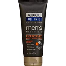 Gold Bond Ultimate Men's Essentials Everyday Hydrating Cream, 6.5 oz (Pack of 6)
