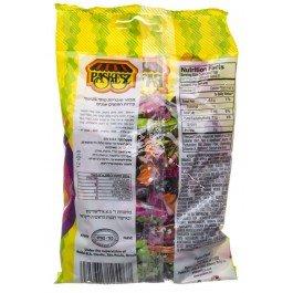 Paskesz - Sour Fruit Chews Taffy Candy (4 x 4-Ounce Bags)