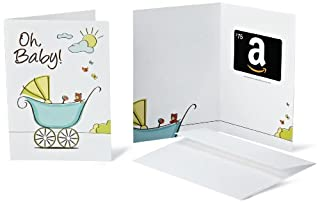 Amazon.com $75 Gift Card in a Greeting Card (Oh, Baby! Design) (B005DHN5SO) | Amazon price tracker / tracking, Amazon price history charts, Amazon price watches, Amazon price drop alerts