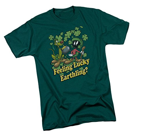 Feeling Lucky -- Looney Tunes Youth T-Shirt, Youth Medium (Looney Tunes Youth T-shirt)