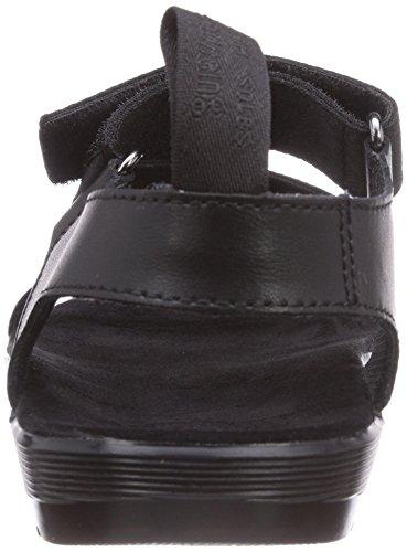 Dr. Martens BALFOUR Webbing BLACK - Sandalias de vestir de lona para mujer negro - negro