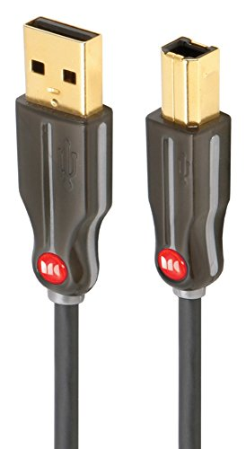 Monster Cable MEUSBHSBK7 Essentials High Performance USB Cable- 7 Feet (Monster Large Cable)