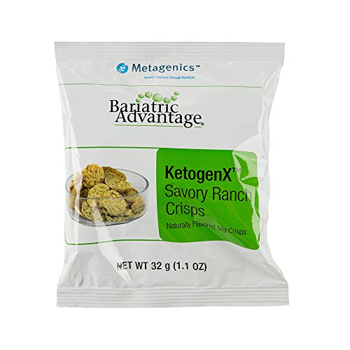 Bariatric Advantage - KetogenX Crisps 1.1 oz Bag - Savory Ranch