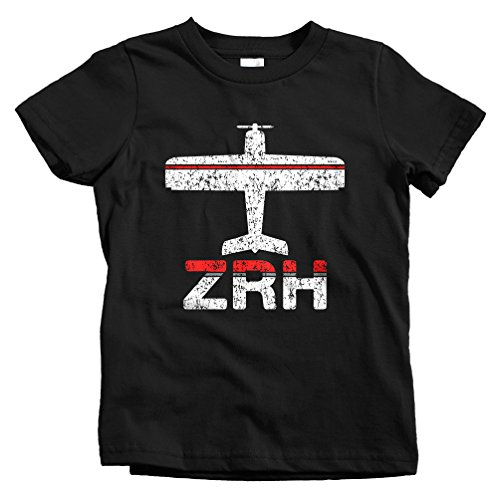 smash-vintage-kids-fly-zurich-zrh-airport-t-shirt-black-youth-x-large