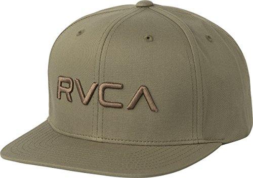 rvca-mens-twill-snapback-hat-olive-one-size