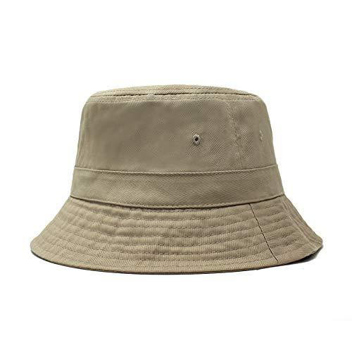 (ChoKoLids Cotton Bucket Hat | Packable Summer Travel Hat | Fishing Hat | 7 Colors (Khaki) )