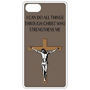 I Can Do All Things Through Christ Who Strengthens Me - Religious - Religion White Iphone 4 - Iphone 4s Cell Phone Case - Cover 30