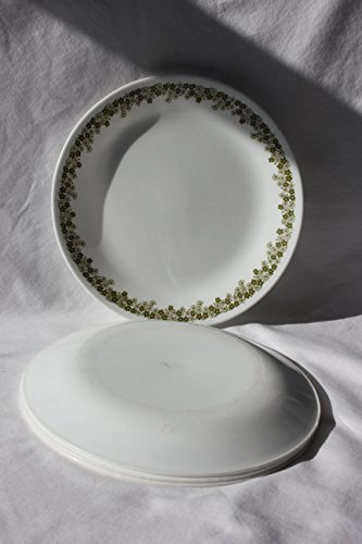 (SET OF 4 - Vintage Corning Corelle 8 1/2 Inch Spring Blossom Luncheon / Salad)