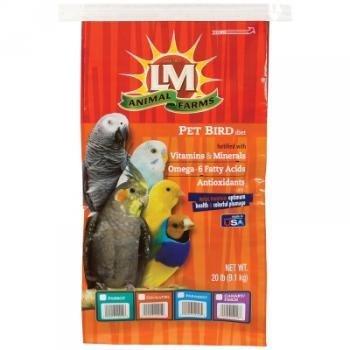 L/M Animal Farms BLM12212 Parrot Toy, 20-Pound