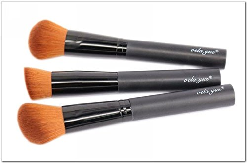 JD Million shop Professional Makeup Brushes Set 3pcs Multipurpose Brushes For Face Makeup Tools (Face Paint School Spirit)