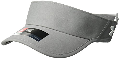 And Hats Golf Visors (Under Armour Women's Team Shadow Visor, Graphite (040)/White, One Size)