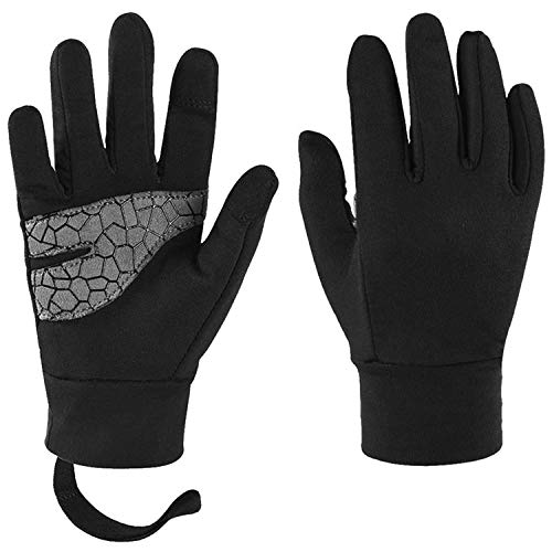 Late-love Kids Full Finger Cycling Gloves Bike Riding Gloves Children Touch Screen Gloves for Kids Aged 6 to 8 -