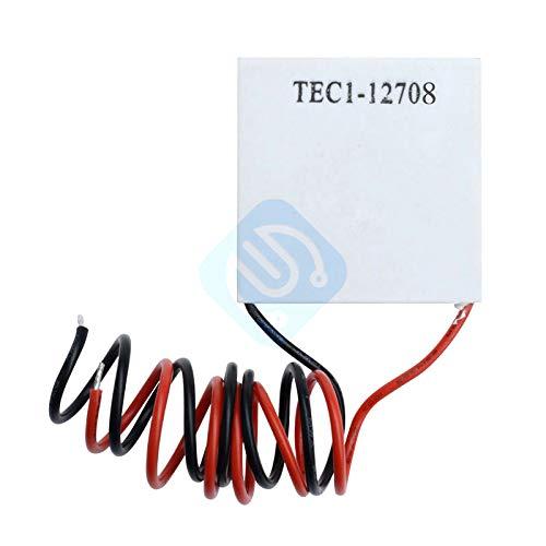 TEC1-12708 Heatsink Thermoelectric Cooler Cooling Peltier Plate Module AL 4040mm