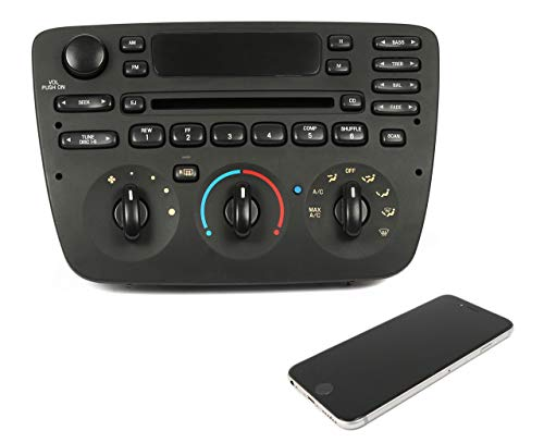 1 Factory Radio AM FM CD Player w Bluetooth Upgrade Compatible With 2000-04 Ford Taurus 1F1F-18C858-DC (Renewed)
