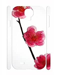 Funky Flower Print Custom High Impact Samsung Galaxy S4 I9500 Phone Case WANGJING JINDA