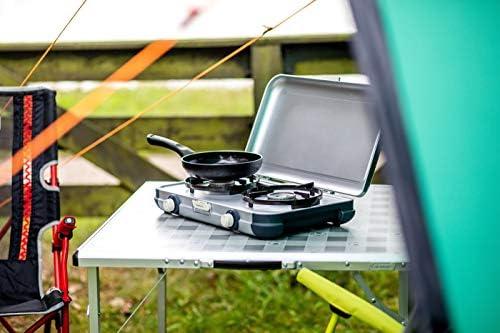 Campingaz Estufa de Camping Cocina 2 CV, portátil Dos ...