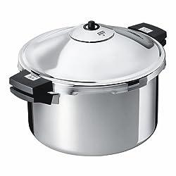 Kuhn Rikon Duromatic Family Style Pressure Cooker Stockpot 8 Quart