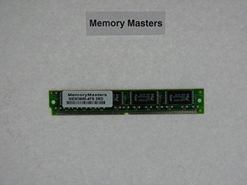 - MEM3600-4FS 4MB Flash SIMM for Cisco 3600 Series(MemoryMasters)