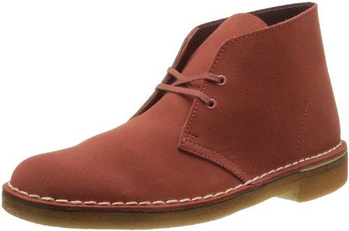 Clarks Desert Boot 203468786 Herren Stiefel Rosso (Rouge (Chili))