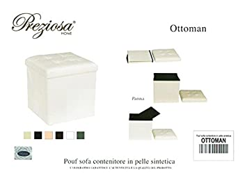 Sitzsack Puff Sofa wertvolle Ottoman Aufbewahrungsbox Kunstleder ...