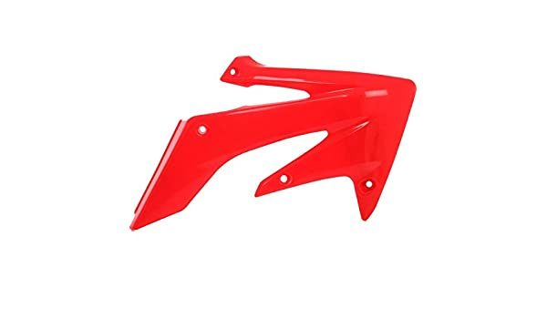Acerbis Radiator Shroud Set for 04-09 Honda CRF250R Red