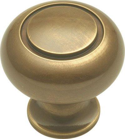 Period Brass Power & Beauty, Antique Brass 1-1/4''