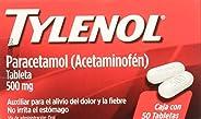 Tylenol Caplets, 500 mg, 50 Piezas
